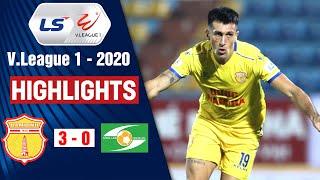 DNH Nam Định vs Sông Lam Nghệ An: 3-0 | Highlights V.League 2020 | On Sports