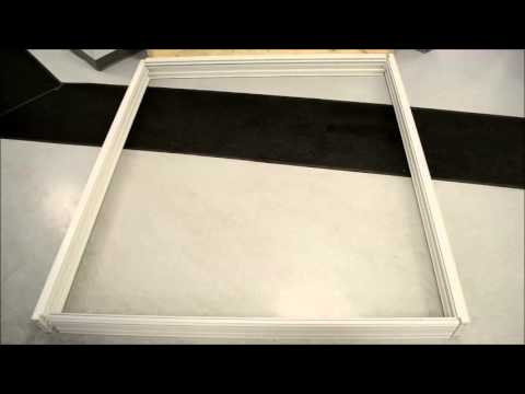 Vista Patio Doors - Frame Installation (Removal of Weather Stripping)