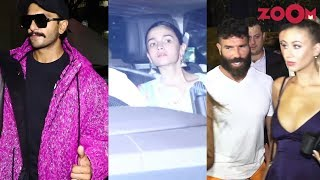 Ranveer-Alia spotted outside old Dharma office | Dino Morea's star-studded party for Dan Bilzerian