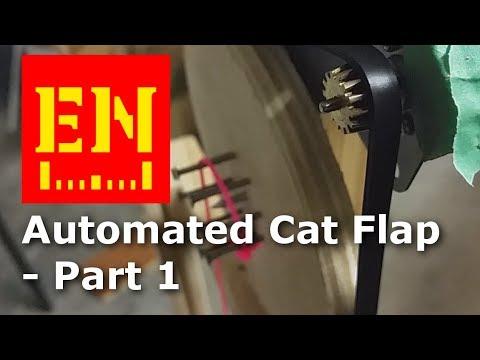 Auto Cat Flap - part 1 of 2 - weighbridge and motorised door
