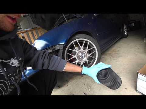 MKIV VW 1.8T Air Filter Change & MAF Sensor Clean