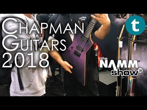 NAMM 2018 | NEW Rob Chapman Guitars 2018