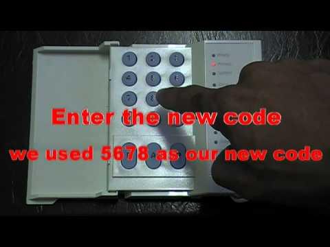 Change Master Code on DSC Alarm System.mpg