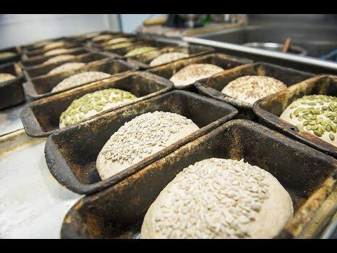 Watch how a Toronto bakery makes their spelt bread
