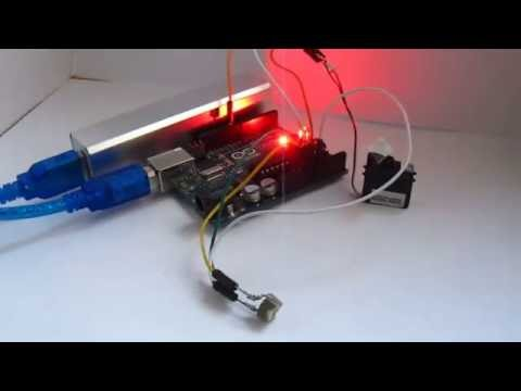 Arduino tutorial-Drive a Servo Motor