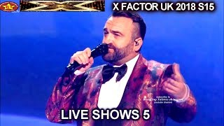 The X Factor UK 2018 Danny Tetley Live Semi-Finals Night 1
