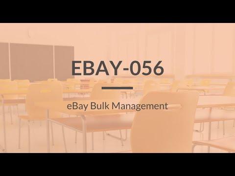 SureDone: eBay Training (4 of 4) - Listing in Bulk