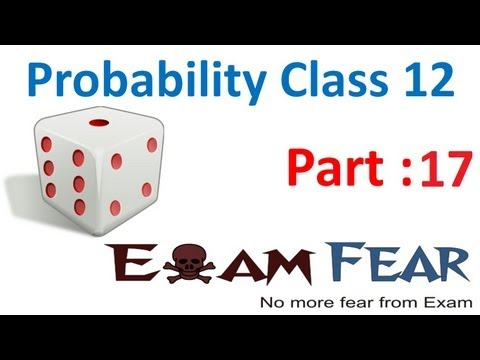 Maths Probability part 17 (Partition sample space,total probabilty theorem) CBSE Mathematics XII 12