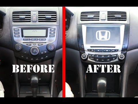 The best car Stereo Radio Replacement upgrade for 2003-2007 Honda Accord 7- Seicane Radio Review