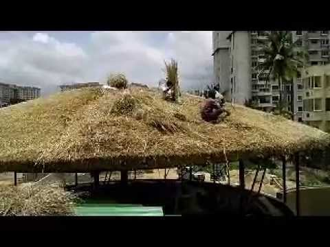 Thatch Roof Construction in India