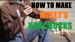 How to make Prop Nunchucks--TMNT