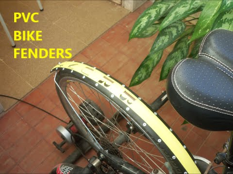 (RE)CYCLING: PVC PIPE BIKE FENDERS