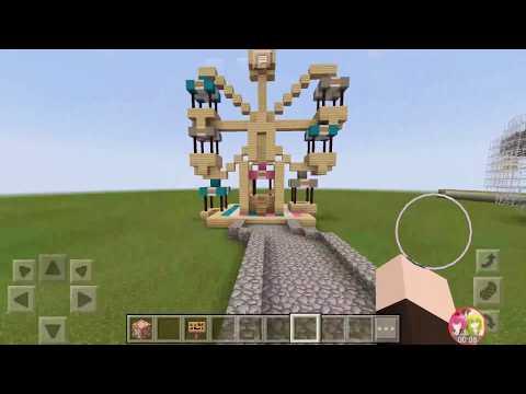 Ferris wheel tour | MCPE update command block