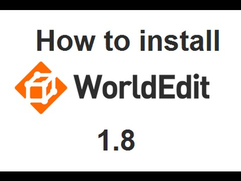 How to Download and Install WorldEdit  for Minecraft 1.8