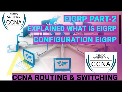 How to configure EIGRP in Cisco Packet Tracer
