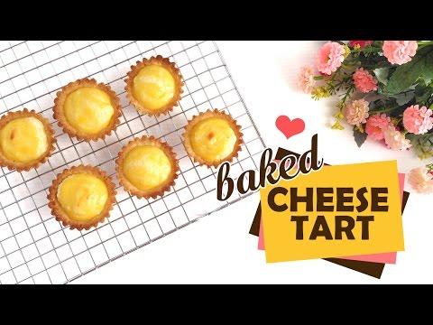 Easy Baked Cheese Tart