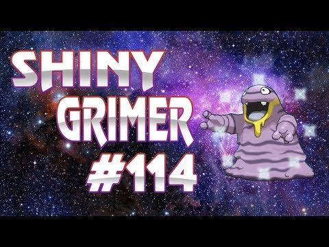 Live Shiny Alolan Grimer Reaction - Road to Shiny Living Dex