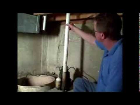 How to Change a Sump Pump - Replace Check Valve