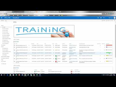 Building a Learning Management Solution in SharePoint