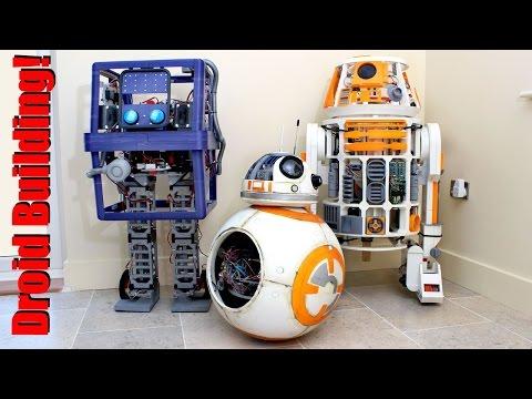 Building BB 8, R2-D2 and Star Wars GONK Droid | XRobots