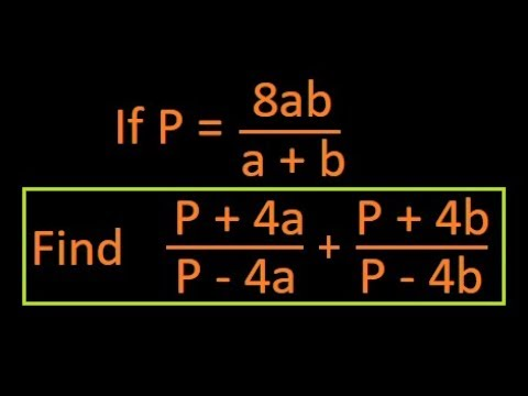 Componendo and Dividendo : Ratio and proportions : Solved example : Question : IBPS : SSC : Bank Po