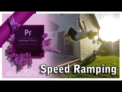 How To Speed Ramp In Premiere Pro (slow down effect)