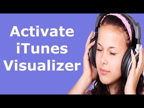 How to activate Visualizer in iTunes
