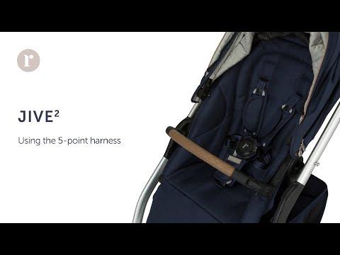 JIVE² Pram - using the 5 point harness