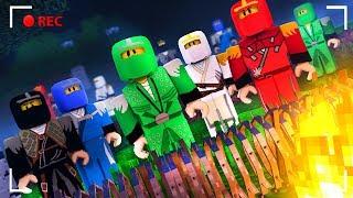APOCALYPSE OF LEGO NINJAGO IN MINECRAFT | CHALLENGE OF THE BASE VS APOCALYPSE IN MINECRAFT