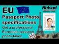 EU Passport Photo and Visa Photos snapped in Reload Internet, Paddington