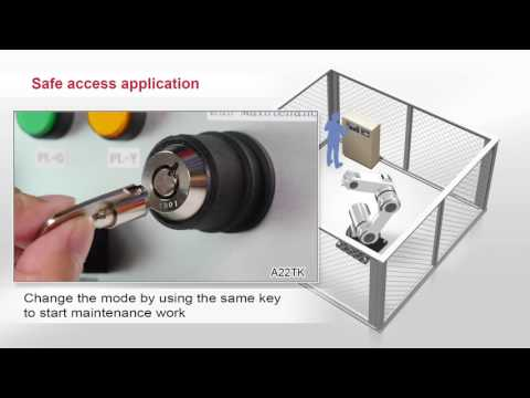 Omron D4SL-N Guard Lock Safety-door Switch Application