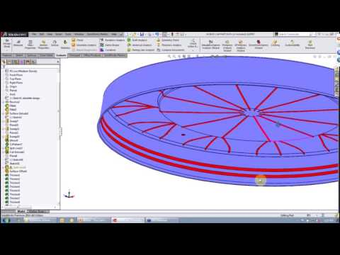 SOLIDWORKS Simulation - Analysis Services - You Can't Mold That Part - and Here's Why