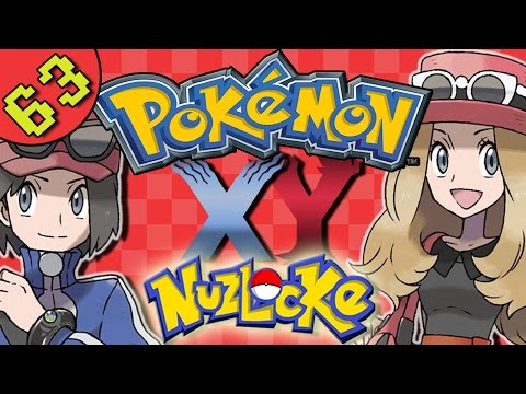 Let's Play Pokemon X and Y Nuzlocke Gameplay | Part 63 - Exploring The Swamp - Route 14