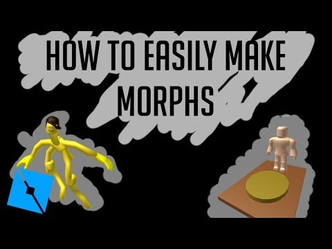 Roblox Studio | How to make Morphs in Roblox | Easy | 2017
