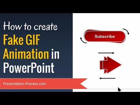 How to Create Fake GIF Animation in PowerPoint