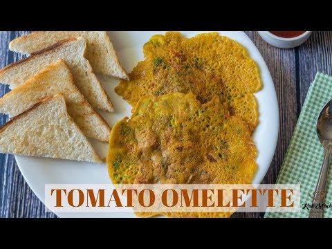 Tomato Omelette recipe-Veg masala Omelette-Kids Lunchbox recipe-Kalimirchbysmita-Ep291