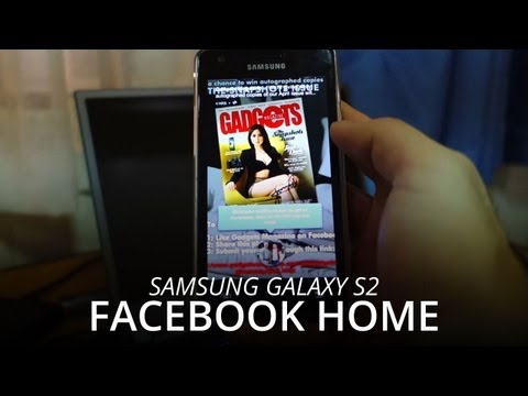Install Facebook Home on Samsung Galaxy S2