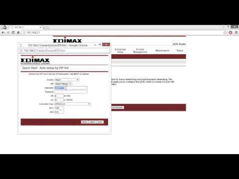 Edimax Router Setup