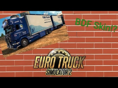 ETS2!!! []TUTORIAL SKIN maken voor BDF TANDEMPACK!!!