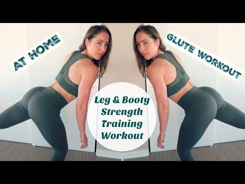 Get those BOOTY GAINS // Leg & Glute Strength Training Workout