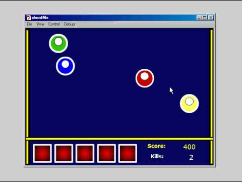 Flash Game Demo - Alien Shooter