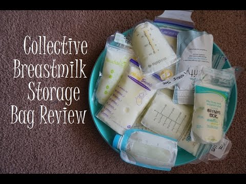 Collective Breastmilk Storage Bag Review // 2015