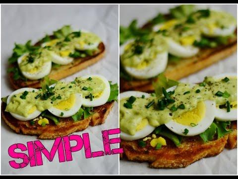 Eggs Avocado on Toasted Sourdough Bread. Toasted Sandwiches. Tasty Avocado. Sourdough bread sandwich