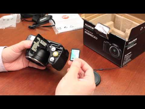 Fuji Guys - FinePix S8600 - Unboxing & Getting Started