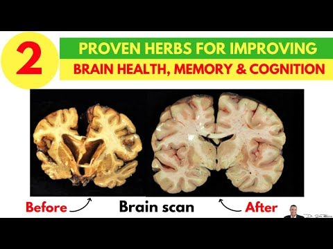 😵 2 Clinically Proven Herbs For Improving Brain Health, Memory & Cognition