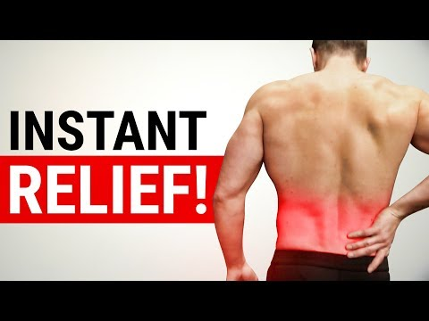 Fix Lower Back Pain In 2 EASY STEPS! (INSTANT RELIEF)
