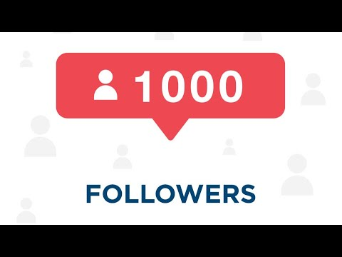 How to get 1000 Instagram Followers Today(2018)