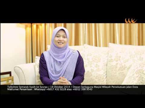 Promo Panel_Semarak Kasih Ke Syurga_Ustazah Nik Salida