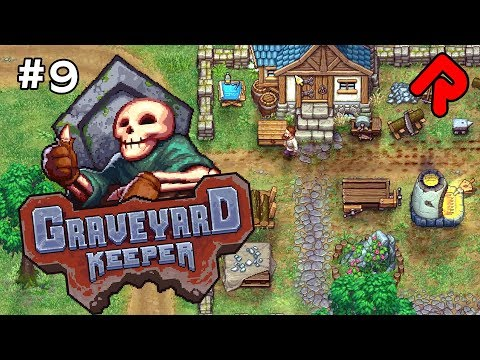 BOWLS for the BISHOP!   Let's play GRAVEYARD KEEPER gameplay ep 9 (Alpha)