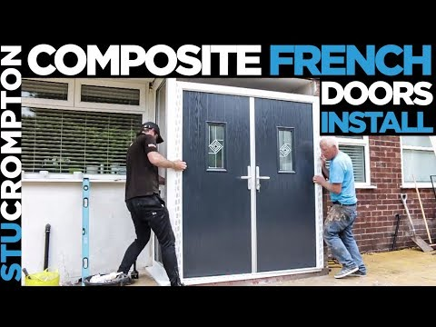 Stunning Composite French doors installation